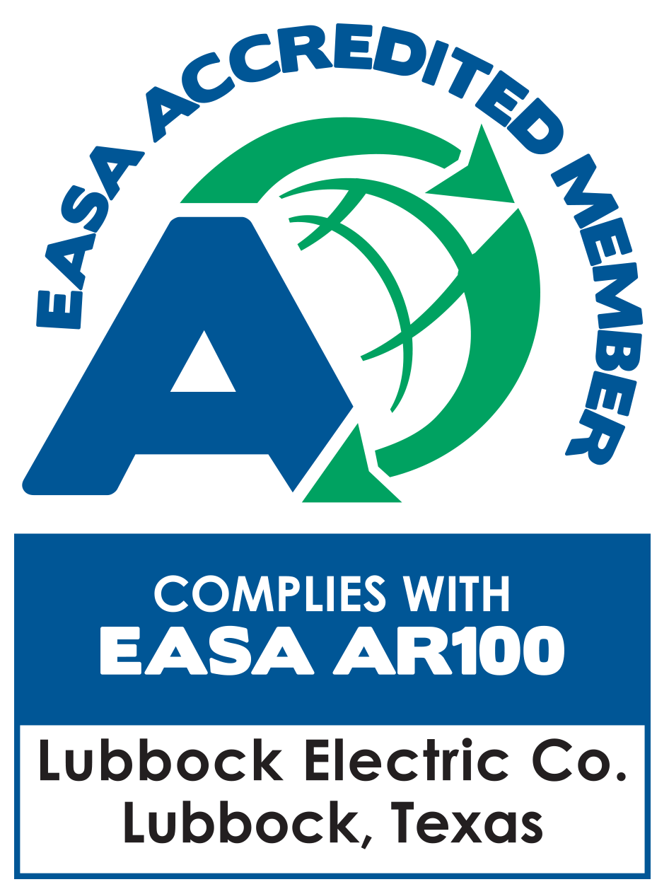 Lubbock Electric Co. EASA Accredited Member
