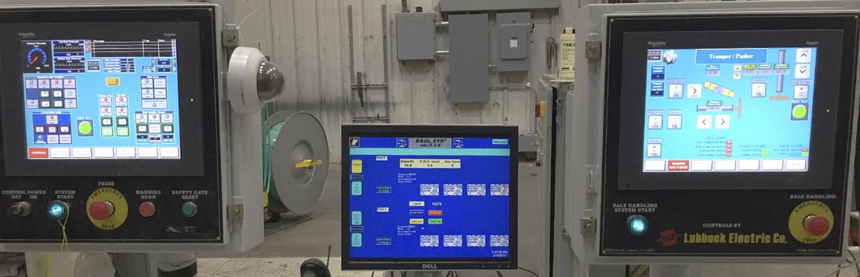 Advanced Cotton Gin Controls