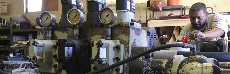 In-Shop Hydraulic Repairs