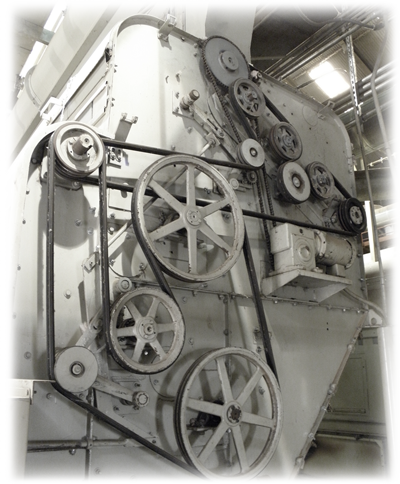 Cotton Gin Power Transmission