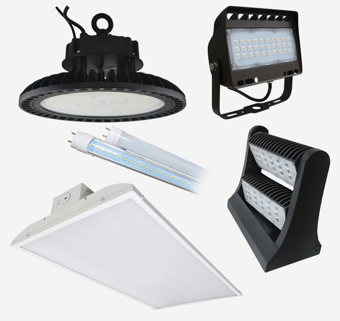 Commercial and Industrial LED Lights