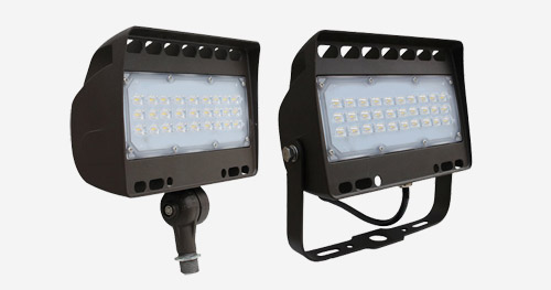 LED Compact Curve Floodlight